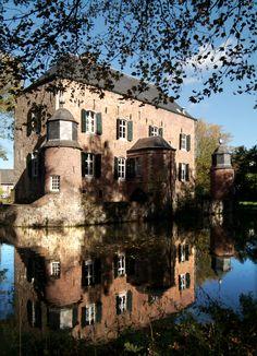 Kasteel Erenstein, Kerkrade, Zuid-Limburg, Nederland