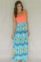 Island Girl Maxi Dress