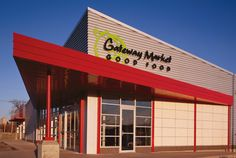 Gateway Market's cafe and bakery. Jalepeno corn, cinnamon rolls, oatmeal cookies, everything else.