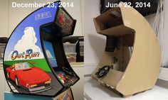 I completed my project! I posted a pic and a link to my project thread Arcade Game Machines, Arcade Machine, Arcade Games, Jukebox, Arcade Bartop, Diy Arcade Cabinet, Pokemon, Gamer Room, Pinball