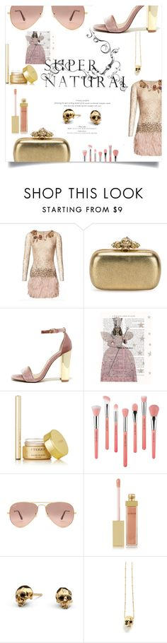 """""""In the palm of your hand"""" by davinia-melki-tahche ❤ liked on Polyvore featuring Matthew Williamson, Alexander McQueen, Steve Madden, Lara, By Terry, Bdellium Tools, Ray-Ban, AERIN and Kasun"""
