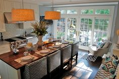 Chicago North Shore Home traditional kitchen