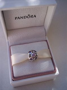 Authentic Pandora Whimsical Lights Purple CZ by JEWELSELAGANT, $40.00