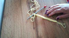 Tutorial-making bulky yarn from fine yarn-Cum facem un fir voluminos din...