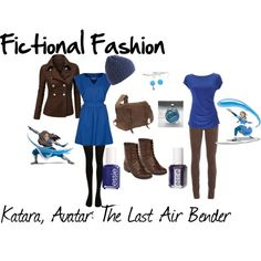 """""""Katara, Avatar: The Last Airbender"""" by fictional-fashion on Polyvore"""