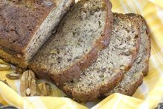 A delicious gluten-free bread - great for a snack or for breakfast!