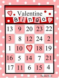 photo about Free Printable Valentine Bingo Cards known as 47 Easiest Valentine Bingo photos within just 2016 Valentine bingo