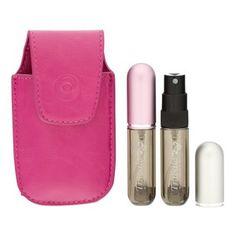 W kobiecej torebce można znaleźć wszystko a jeśli nie starcza Ci miejsca na zbyt duży flakon Twoich ulubionych perfum... #Travalo - dyskretny i poręczny. ❤Dla każdej stylowej damy❤ https://www.orpe.pl/travalo-travalo-pure-take-2-airline-zestaw-dla-kobiet-2x4-perfumy-zestawy