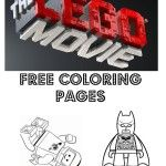 Lego movie colouring pages