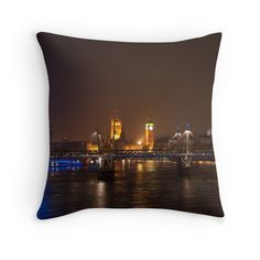 London Eye, River Thames and Big Ben now available as Throw Pillows River Thames, London Eye, Big Ben, Tapestry, Throw Pillows, Eyes, Shop, Home Decor, Hanging Tapestry