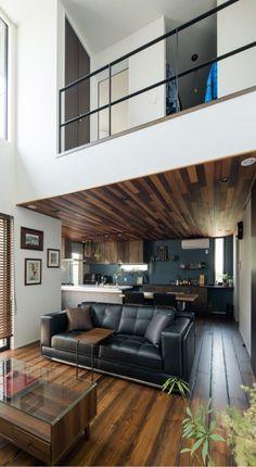 Casa Loft, Minimalist Architecture, Interior Decorating, Interior Design, Clever Design, Home Living Room, Room Interior, My House, Home Furniture