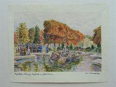 Aquarell Zeichnung Demel Österreich nach Stefan Simony Schönbrunn Wien 1917 Painting, Ebay, Art, Watercolour, Drawing S, Art Background, Painting Art, Kunst, Paintings