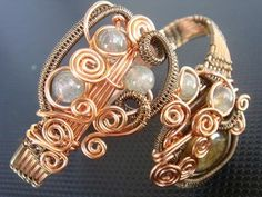 Wire Jewelry Gegani Bangle by ArtOfAyudhia on Etsy