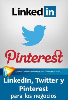 LinkedIn, Twitter y Pinterest para los negocios  Optimiza la presencia de tu empresa en las redes sociales     Este curso video2brain viene a dar a conocer a empresas y profesionales las claves para usar las redes sociales de manera productiva, sabiendo de qué forma hacer más efectiva nuestras interacciones en la red.