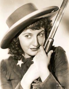 Barbara Stanwyck as Annie Oakley, 1935