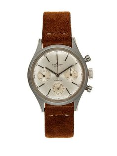 Vintage Watches Breitling Premier Watch (c. 1950). Someone let me borrow $3,650.