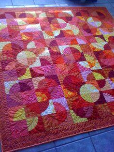 Melissa's Wild Orange quilt