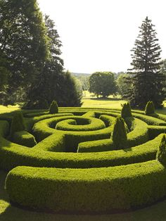 the older kids like mazes in books so maybe they'd like the real thing - I must ask them! I noticed some lawn-level mazes at a stately house in Ireland, can't lose the kids in one of those! (It was in this month's Caravan Club Mag.)