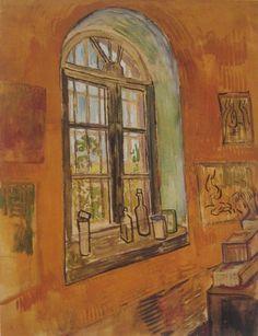 Van Gogh--Window at the Asylum