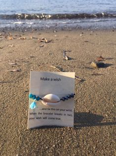 Excited to share the latest addition to my shop: Ocean Oceans 9, Make A Wish, How To Make, One More Step, Crystal Bracelets, Craft Supplies, Etsy Shop, Handmade, Hand Made