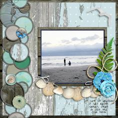 Salt Water | LissyKay Designs: Gumballs; Clever Monkey Graphics: Under the Boardwalk; Wendy Tunison Designs: Me and My Shadow