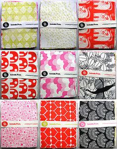 Love these fabric prints from Umbrella Prints!