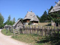 Old Village Sirogojno - Serbia by Goran Aničić, via Flickr