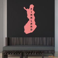 "Wandtattoo ""Finnland"" - ab 9,95 €   Xaydo Folientechnik"