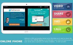 Globfone es una aplicación web gratuita que nos permite realizar llamadas internacionales gratis y también enviar sms a cualquier país del mundo.