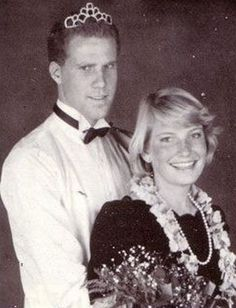 Will Ferrell's prom picture... Is it just me, or does he look like a mix of himself and Ted Danson?!
