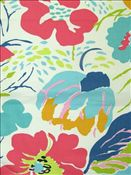 Hot House Flowers Multi:Annie Selke fabric Cotton fine twill for Drapery, Bedding, Pillows, Table Coverings, Light Use Furniture. Fabric Rug, Drapery Fabric, Fabric Wallpaper, Floral Fabric, Hot House, Big Girl Rooms, Home Decor Fabric, Crafty Craft, Outdoor Fabric