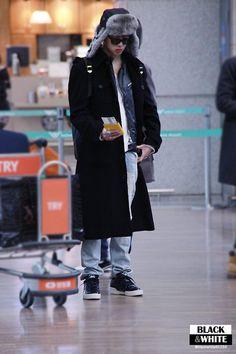 Kang Seung Yoon and Winner at Incheon Airport (140103) | Forever Seung Yoon