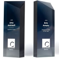 chip off acrylic award — andrew watson design Glass Trophies, Custom Trophies, Glass Awards, Crystal Awards, Corporate Awards, Corporate Gifts, Trophy Maker, Wooden Award, Acrylic Trophy