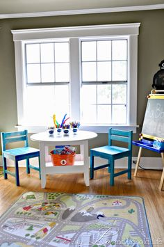 Land Of Nod Play Table Knock-off via a LO and Behold Life