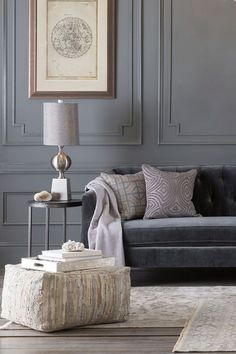 gray and ivory living room for photos gray and ivory living room. Pick up the most update Glamorous pictures of gray and ivory living room tagged at. Ivory Living Room, Living Room Paint, Living Room Modern, Living Room Sofa, Living Room Designs, Living Room Decor, Dining Room, Grey Wall Decor, Salons Cosy