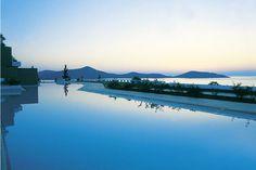 The Perfect Night in Greece, Outside the Porto Elounda Deluxe Resort