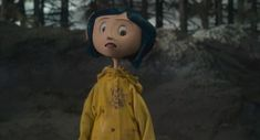 Screencap Gallery for Coraline Bluray, Laika). When Coraline moves to an old house, she feels bored and neglected by her parents. Coraline Movie, Coraline Art, Coraline Jones, Tim Burton, Halloween Profile Pics, Coraline Aesthetic, Stop Motion Movies, Laika Studios, Red Blanket