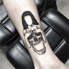 As aesthetically pleasing as tattoos are, they can be costly and require a lot of time, effort, and patience. Dope Tattoos, Spooky Tattoos, Black Ink Tattoos, Skull Tattoos, Leg Tattoos, Body Art Tattoos, Sleeve Tattoos, Skeleton Tattoos, Badass Tattoos