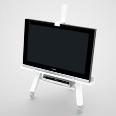 Minimalist Mobile Tv Stand By Axel Bjurdström