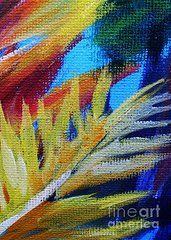 Abstract Paintings - Fronds by John Clark