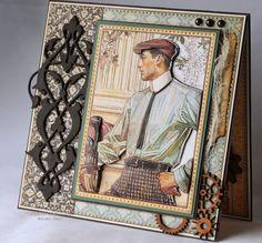 Killam Creative: @graphic45 A Ladies Diary card for a man. #graphic45