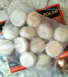 Trader Joe's 12 Mushroom Mochi Potsticker Dumplings 227g $2.99 トレーダージョーズ 12マッシュルームもち ポットスティッカー ダンプリング