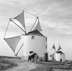 Black and White Photography Dom Quixote, Black And White Landscape, Old Pictures, Portuguese, Black And White Photography, Vintage Photos, Landscape Photography, The Past, Around The Worlds