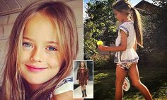 Russian-born Kristina Pimenova, 10, dubbed 'the most beautiful girl in the world' has moved from Moscow to sign with prestigious agency LA Models.