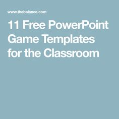 14 best powerpoint game templates images classroom games