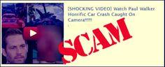 """Il nuovo video """"shock"""" di Paul Walker sull'incidente, ma è solo una truffa! http://tuttacronaca.wordpress.com/2014/01/16/il-nuovo-video-shock-di-paul-walker-sullincidente-ma-e-solo-una-truffa/"""