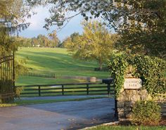 Claiborne Farm – legendary for its most famous resident, Secretariat, the 1973 Triple Crown winner.
