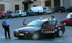 Alfa Romeo 159 Carabinieri: the world's most stylish police car for the world's most stylish police.