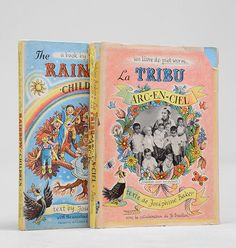 La Tribu Arc-en-ciel [together with:] The Rainbow Children. - BAKER, Josephine, & Piet Worm (illustrator). - Peter Harrington Rare & First Edition Books