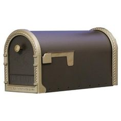 Gibraltar Industries Venetian Bronze Designer Mailbox DM160V01 by Gibraltar Industries. $127.01. Designer mailbox gives you a decorative flair with the addition of brass colored door trim, back trim, flag, and knob. Large Capacity Mailbox.